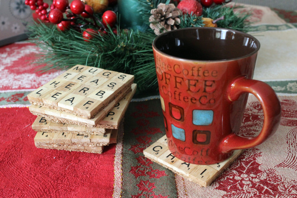 DIY Scrabble Drink Coasters — Laurie Hamame | Cleveland ...